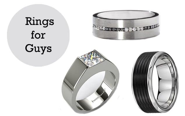 He's Taken!: 12 Engagement Rings for Men