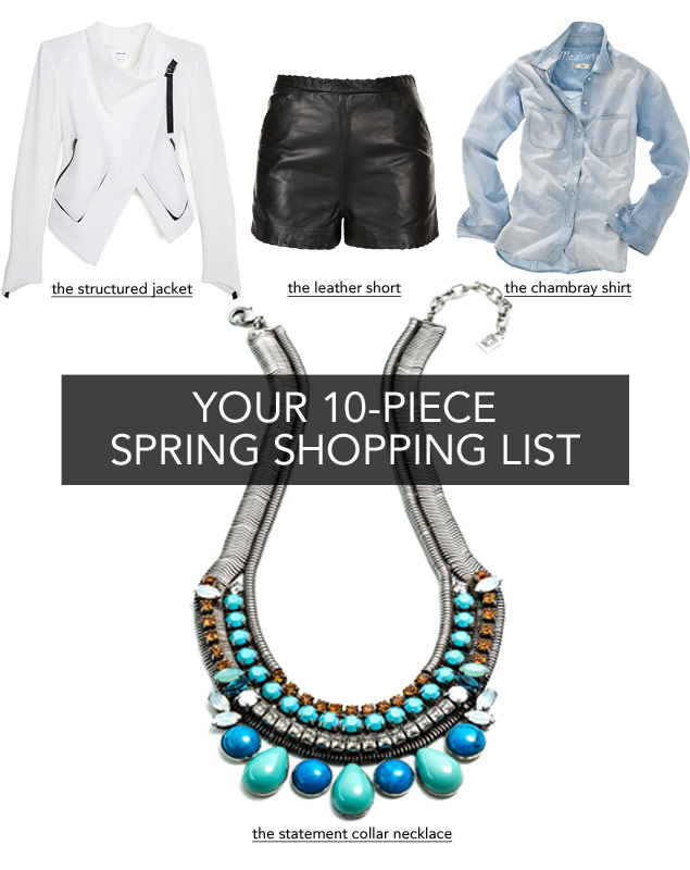 Spring Shopping List: 10 Must-Haves for Sartorial Success