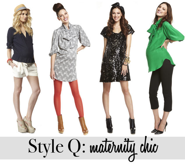 Style Q: Haute Momma (To Be!)