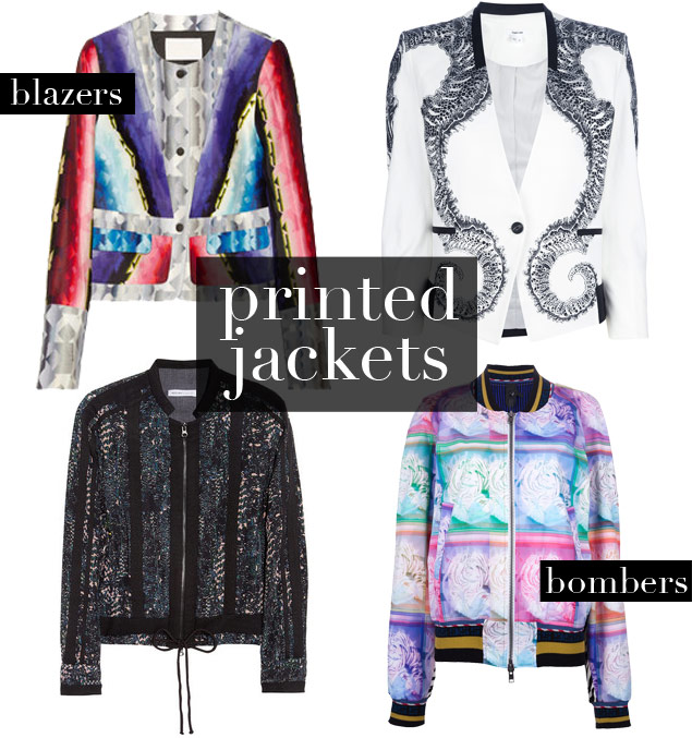 Shop It Right Now: 22 Printed Jackets to Add to Your Wardrobe