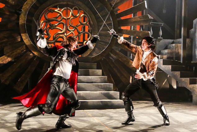 "Theater Review: ""The Three Musketeers"" at Synetic Theater"