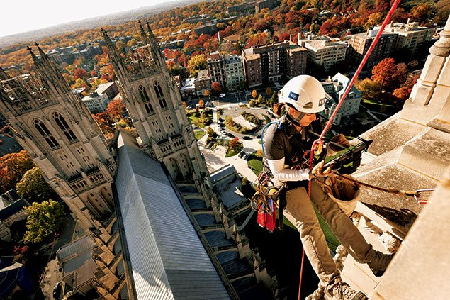 Behind the Scenes: A Rare View From Atop Washington National Cathedral