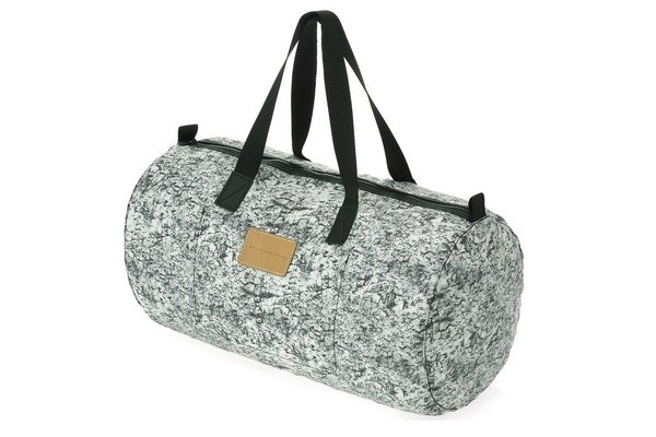 Marc by Marc Jacobs rock-print packable duffle, $98.