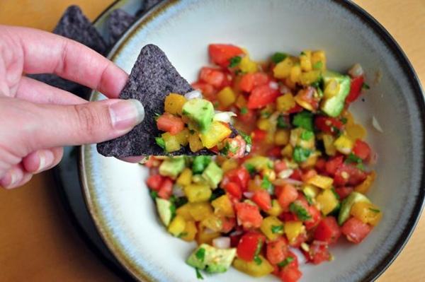 Heirloom Tomato and Avocado Salsa
