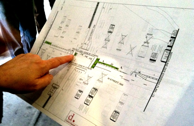 Construction of M Street Cycle Track to Begin in August