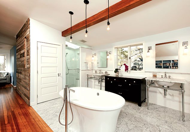 No Room for Modesty: Local Bath Trends