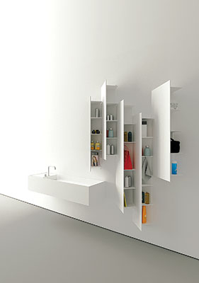 Sleek Shelving