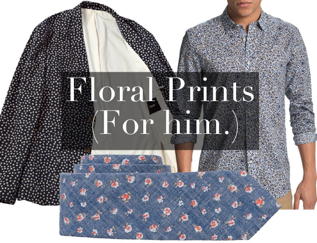 Style Tip for Guys: How to Wear Florals (Photos)
