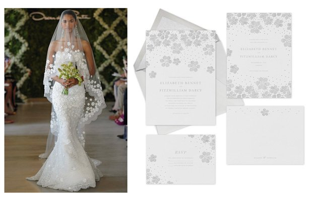 Wedding Collaboration: Oscar de la Renta for Paperless Post