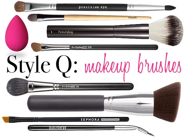 Style Q: Essential Makeup Brushes