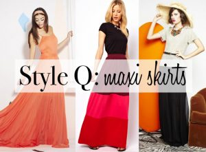 Style Q: Maxi Skirts for Shorter Women