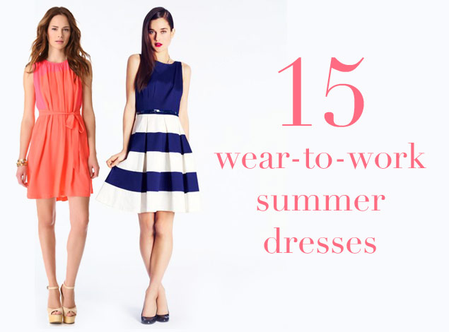 Summery Dresses You Can Wear to Work