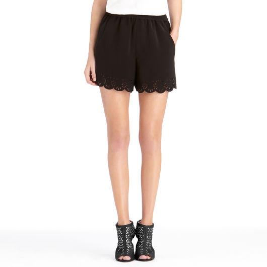 Lace & Eyelet Shorts