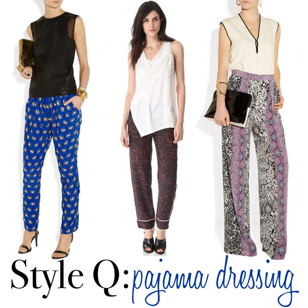 Style Q: How to Wear Pajama Pants