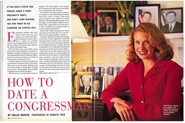From the Archives: How To Date a Congressman