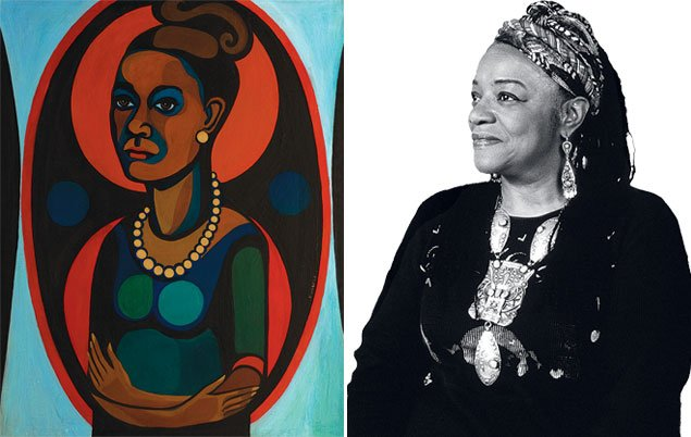 "Art Preview: ""American People, Black Light: Faith Ringgold's Paintings of the 1960s"""