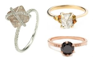 Say Yes to These 20 Alternative Engagement Rings (Photos)