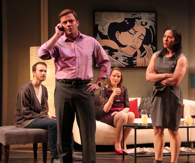 "Theater Review: ""Becky Shaw"" at Round House Theatre"