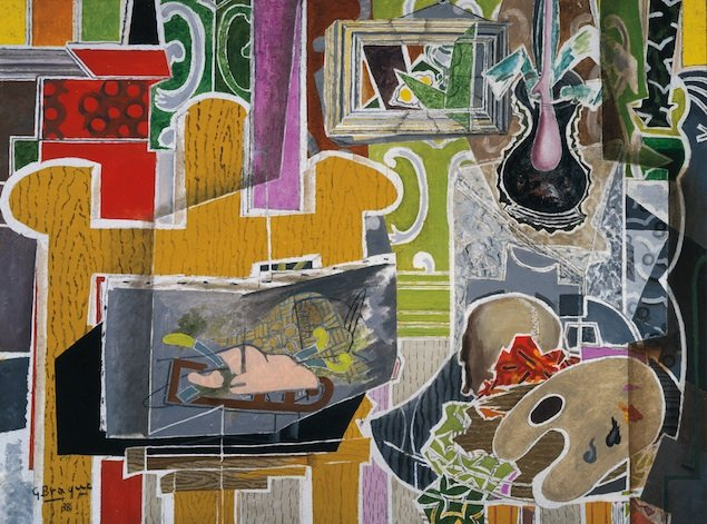 """Art Review: """"Georges Braque and the Cubist Still Life, 1928-1945"""" at the Phillips Collection"""