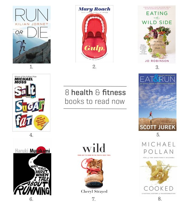 Summer Reading List: 8 Must-Read Health and Fitness Books