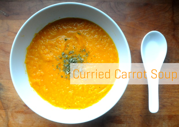 Healthy Recipe: Gluten-Free Curried Carrot Soup