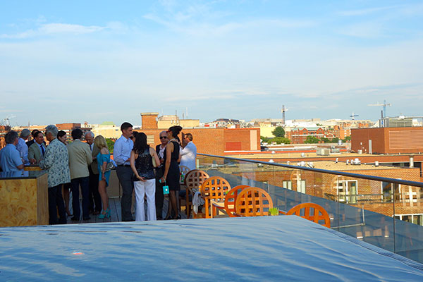 A Wee Rooftop Party for a Few Friends of the Washington Ballet (Photos)