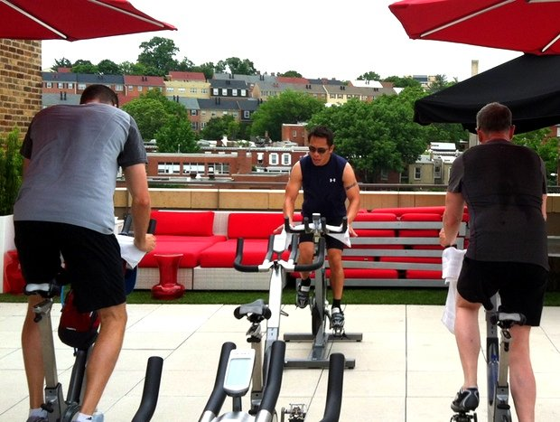 Fitness Class Review: Rooftop Cycling at Vida Fitness