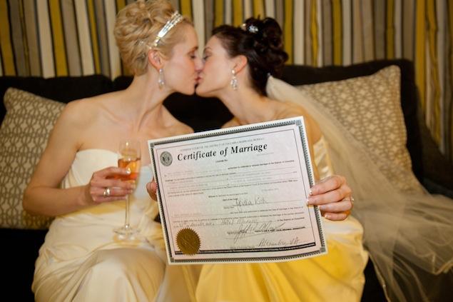 Marriage Equality: Same-Sex Weddings (Photos)