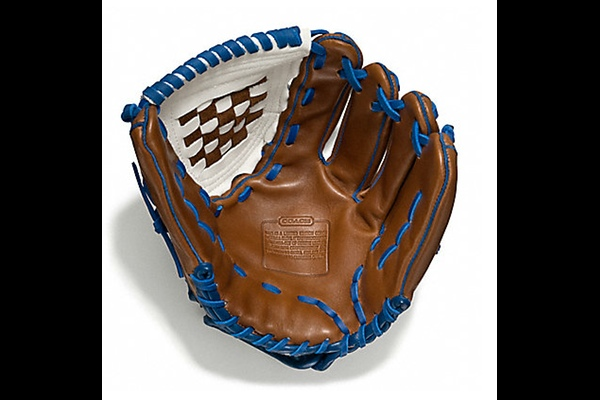 Heritage Baseball Leather Color-Blocked Glove