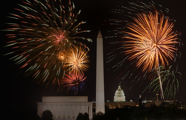 July Fourth 2013: Where to Watch the Fireworks in Washington