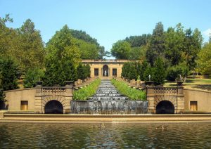 The Up and Over Stairs Workout at Meridian Hill Park