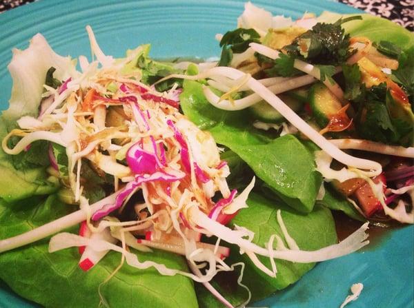 Vegetable Lettuce Wraps