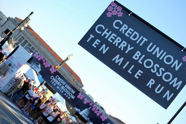 Best Local Race: Cherry Blossom Ten-Miler