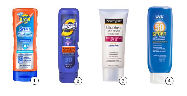 Which Drugstore Sports Sunscreens Work Best?