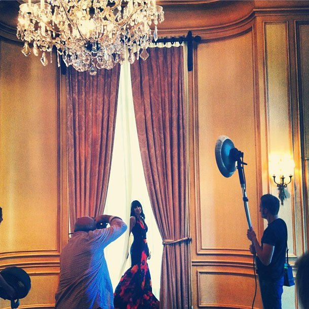 Photo Friday: Behind the Scenes at Our Style Setters Shoot