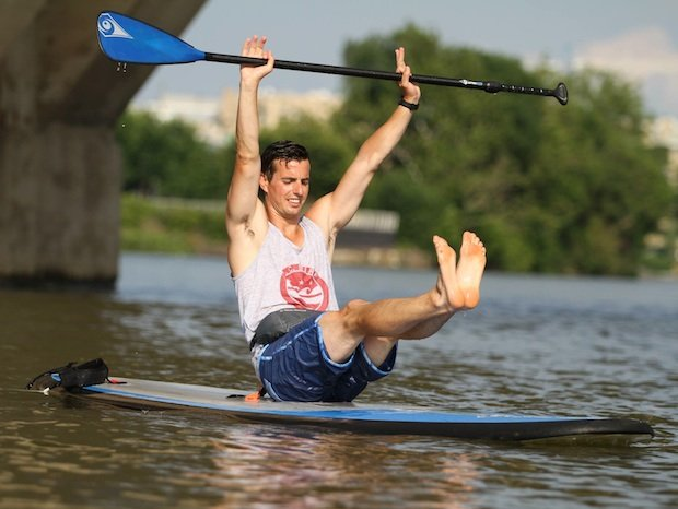 Fitness Class Review: Standup Paddleboarding Fitness With DC Surf Company