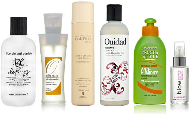 Rainy Day Beauty: 6 Anti-Humidity Hair Products