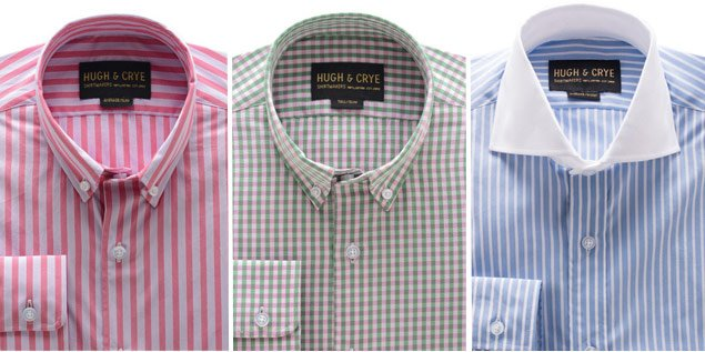 Sample Sale Alert: Get Hugh & Crye's Tailored Shirts at a Major Discount