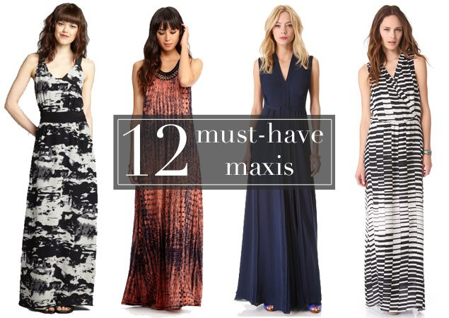 The Maxi Dresses You'll Want to Live In for the Rest of the Summer (Photos)