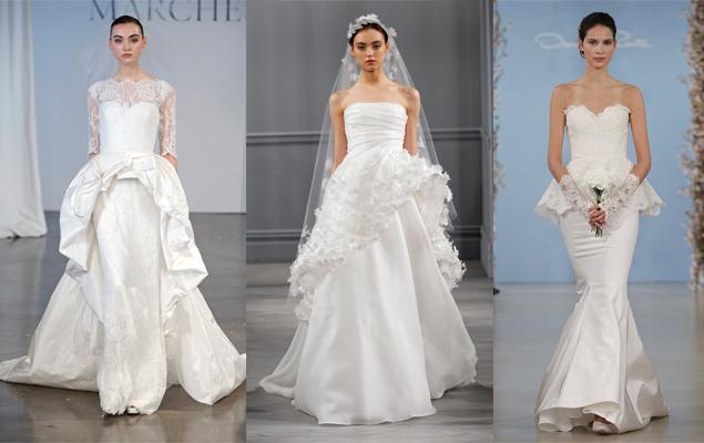 Trend Alert: Peplum Wedding Dresses (Photos)