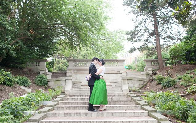 Real Wedding: Sandy and Michael
