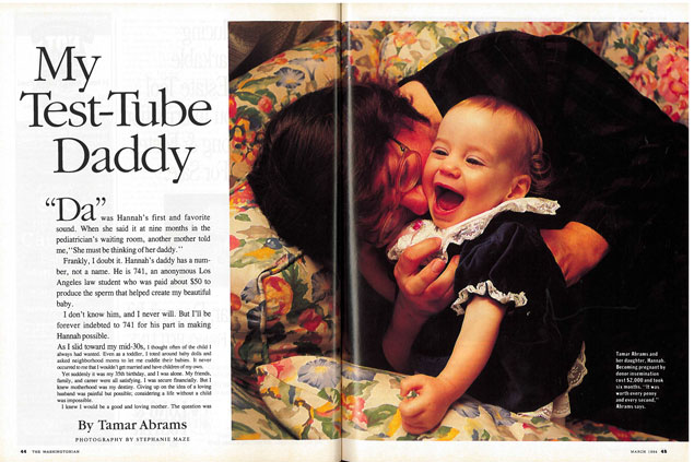 From the Archives: My Test-Tube Daddy