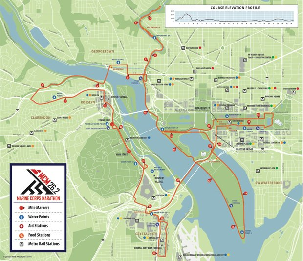 Marine Corps Marathon Changes Route for Flatter Course, Scenic Views