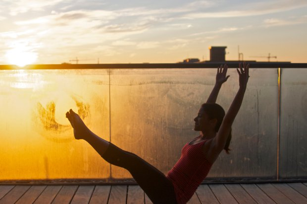 Fitness Class Review: Rooftop Sunrise Pilates at the Capella Hotel