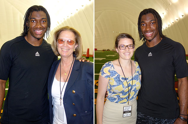 Our Incredible Hour and a Half With Robert Griffin III