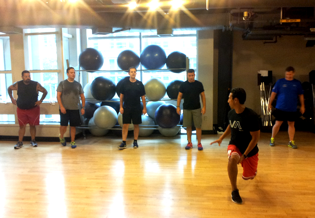Fitness Class Review: Fit for Hope Workout With Local DC Chefs