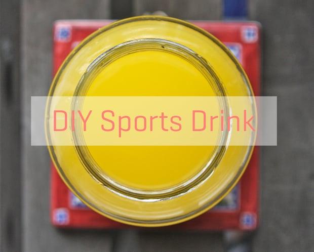 Healthy Recipe: Lemon-Orange Sports Drink