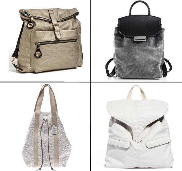 Trend Spotting: The Backpack Bag