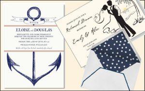 Anchors Aweigh: Beach Wedding Invitations (Photos)