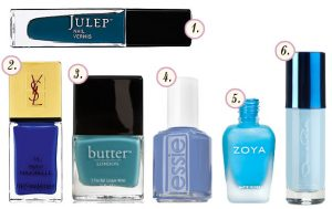 Trend to Try: Blue Nails
